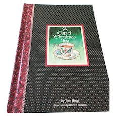 1982 'A Cup of Christmas Tea' Hardcover Gift Book
