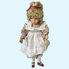 1991 'Mary, Mary Quite Contrary' doll by Diana Effner