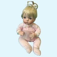 "1993 ""Sugar Plum"" Blond Baby Doll by Diana Effner"