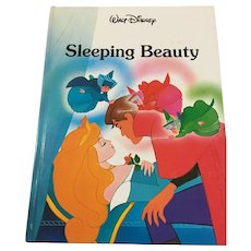 Pristine 1986 Walt Disney Twin Books 'Sleeping Beauty' Gallery Edition