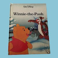 Pristine 1986 Walt Disney 'Winnie the Pooh' Gallery Edition Hardcover Book