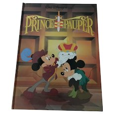 1990 Walt Disney 'The Prince and the Pauper' Gallery Edition