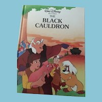 1988 Walt Disney 'The Black Cauldron' Gallery Edition Hardcover Book
