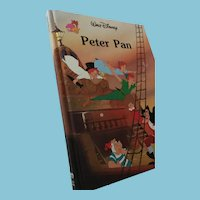 1986 Walt Disney 'Peter Pan' Hardcover Book