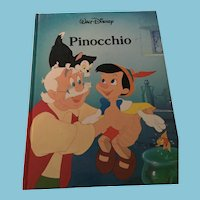 1986 Walt Disney 'Pinocchio' Gallery Books