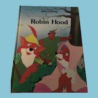 1989 Walt Disney 'Robin Hood' Gallery Books
