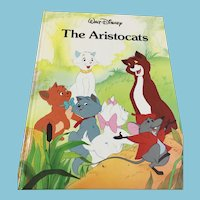 1988 Twin Books Walt Disney 'The Aristocats' Gallery Books