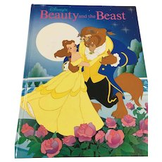 1991 Twin Books 'Disney's Beauty and the Beast' Gallery Books