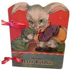 1943 'The Story of Peter Rabbit' Picture Storybook