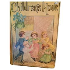 November 22, 1887 Profusely Illustrated 'Children's Hour' Book of 'Bright Pictures, Stories, and Poems'