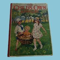 Circa 1920s 'The Child's Own Annual ' Ninety-Fourth Annual Volume