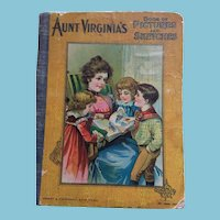 Circa 1890s - 1900s Picture Story Book for Little Boys