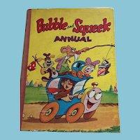 Circa 1950s 'Bubble and Squeek Annual' Hardcover Children's Book
