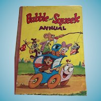 Circa 1950s 'Bubble and Squeek Annual' Hardcover Children's Book