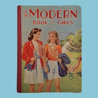 Circa 1953 'The Modern Book for Girls' by Winifred Norling