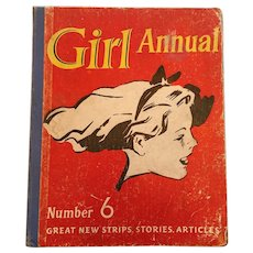1958 Girl Annual Number 6 (Great New Strips, Stories, Articles)