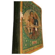 1893 'Chatterbox' Hardcover Children's Anthology Hard Cover Book