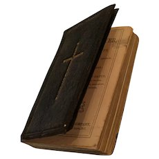 Early Leather Miniature 'Book of Common Prayer'