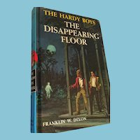 1964 'The Hardy Boys - The Disappearing Floor' Hard Cover Book