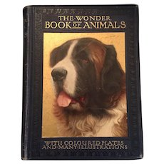 Early 1900s 'The Wonder Book of Animals for Boys and Girls'