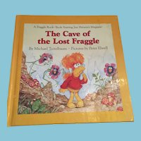 1985 First Edition 'The Cave of the Lost Fraggle' Children's Illustrated Hardcover Book