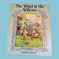 1990 'The Wind in the Willows: Pictures and Stories for Children' Hardcover Book