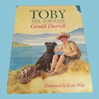 1991 First U.S. Edition 'Toby the Tortoise' Hardcover Children's Book