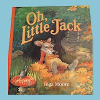 First U.S. Edition, 1992 'Oh, Little Jack' Hardcover Storybook