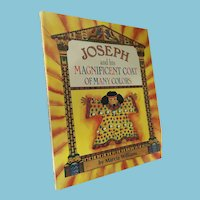 First U.S. Edition, 1992 'Joseph and his Magnificent Coat of Many Colors' Children's Book