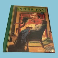 1990 First Edition 'Peter Pan' Hardcover ook Illustrated by Greg Hildebrandt