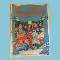 1980 An award Classic Fairy Tale 'The Sleeping Beauty' Storybook