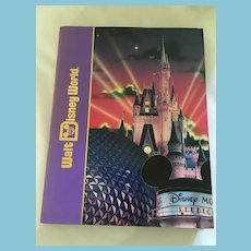 Circa 1990s 'Walt Disney World' Hardcover Book with Dustcover