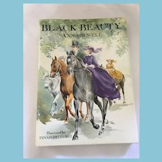 1993 Fine first edition 'Black Beauty' Hardcover Book with Dust Jacket