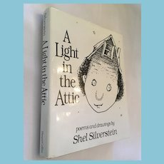 'A Light in the Attic' by Shel Silverstein Hardcover Book with a Dust Jacket