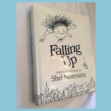 1996 Stated 'First Edition' 'Falling Up' Hardcover Book by Shel Silverstein
