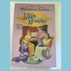 1995 'Little Women' by Louisa May Alcott Hardcover Book