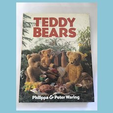 1984 'Teddy Bears' Hardcover Book by Philippa & Peter Waring