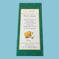 1988 'Pooh's Library' Boxed Set by A.A. Milne