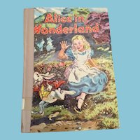 1955 Whitman 'Alice in Wonderland'' Hardcover Book by Lewis Carroll