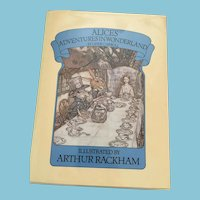 1985 Chancellor 'Alice's Adventures  in Wonderland'' Hardcover Book with Dust Jacket