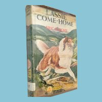 1940 Famous GD Dog Stories, 'Lassie Come Home' Hardcover Book