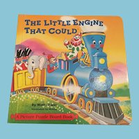 1999 Picture Puzzle Book, The Little Engine that Could'