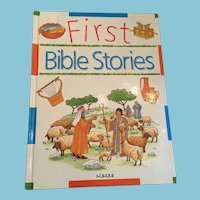 1994 'First Bible Stories' Large Hardcover Picture Storybook