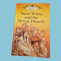 1980 'Snow White and the Seven Dwarfs' Hardcover Illustrated Storybook