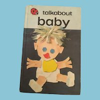 1974 'Talkabout Baby' Hardcover Illustrated Children's Book