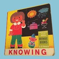 1978 'Knowing' Hardboard Picture Children's Book