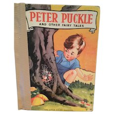 1940 Peter Puckle and Other Fairy Tales Hard Cover Little Book