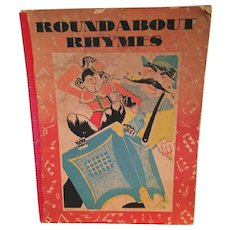 Pre 1935  'Roundabout Rhymes' published by The Commercial Book Binding Co