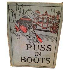 1926 'Puss in Boots And Other Stories' Children's Book