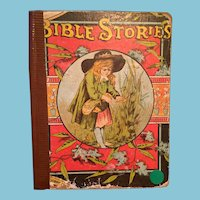 Turn of the 19th Century Illustrated Bible Story Book